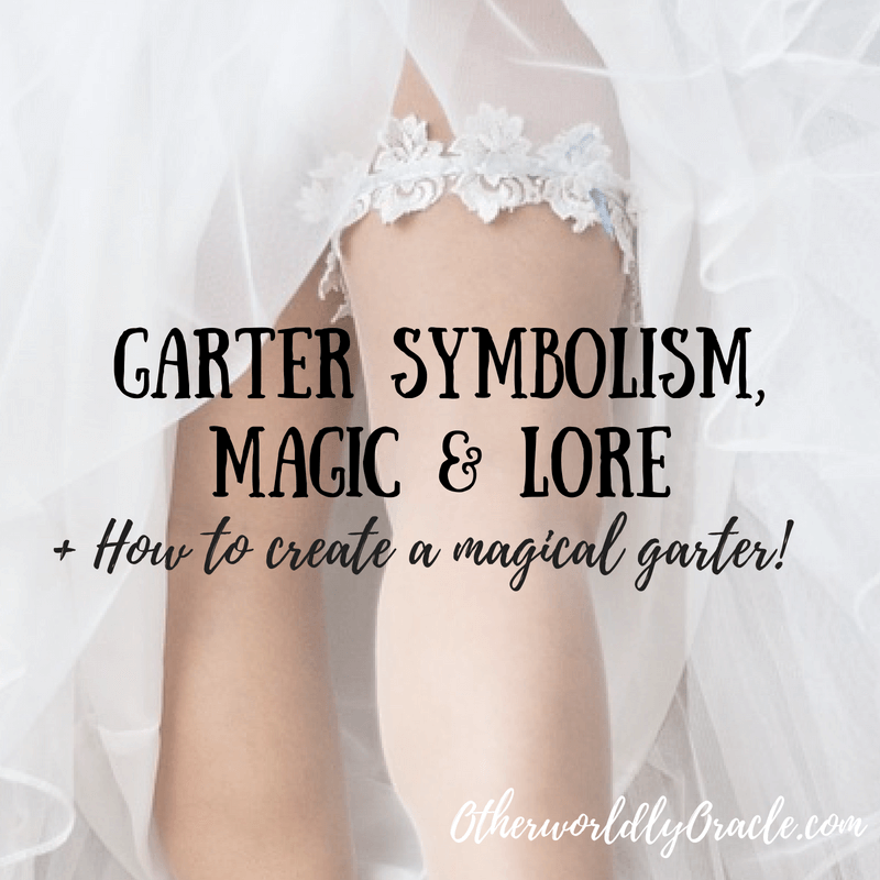 Medieval Witchcraft: How to Make Your Own Magical Garter!