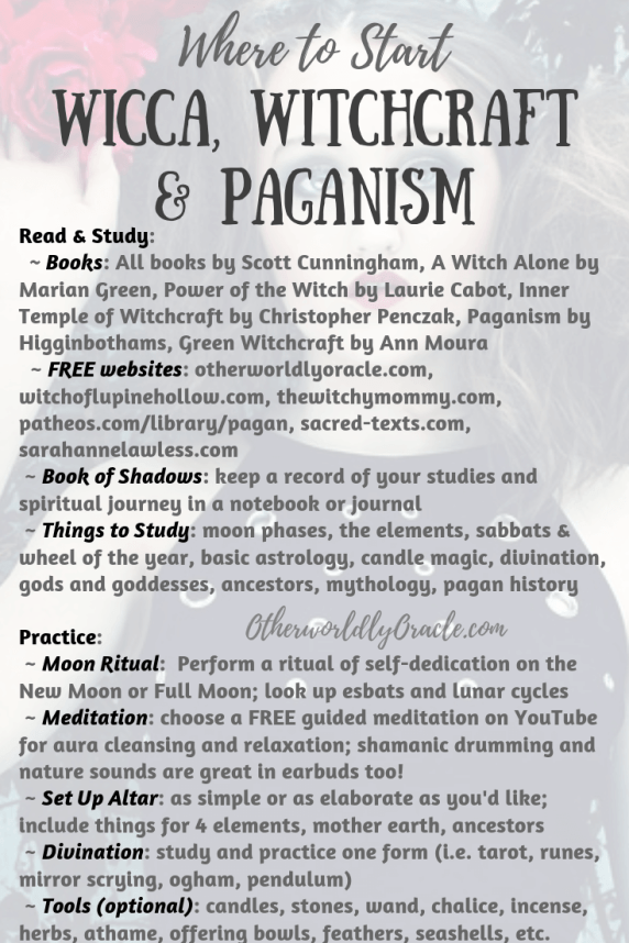How to Start in Wicca: Beginner Pagan