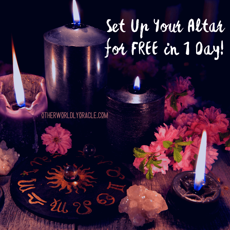 Paganism for Beginners: How to Set Up Your Altar in 1 Day