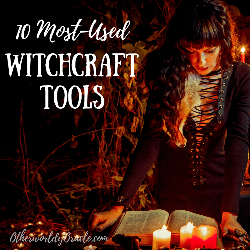 10 of My Most-Used Witchcraft Tools and Ingredients!
