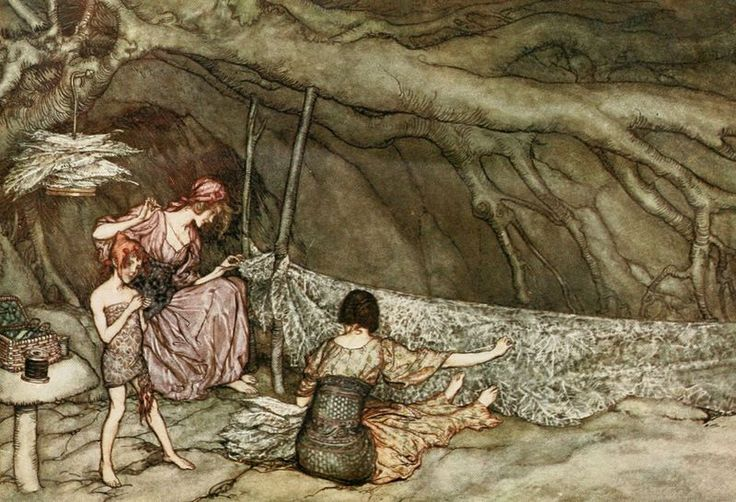 Little people in North America resemble the fairies of Europe.