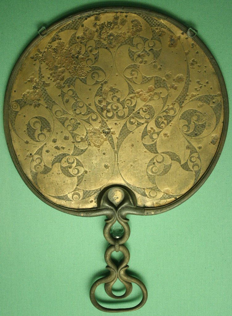 Romans and Celts believed and used magic mirrors