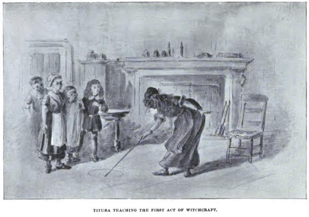 Tituba, Salem Witch Trials
