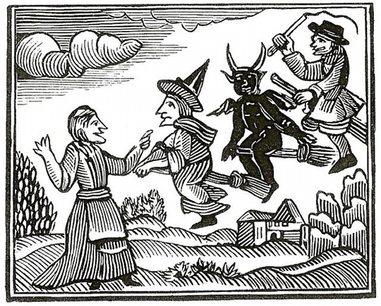Witches were blamed for everything in early America. American witchcraft was a very real thing - even if just in people's imaginations.