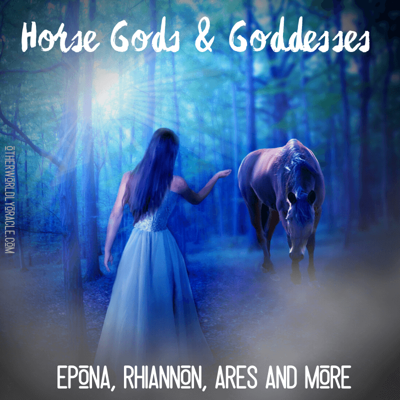 Horse Gods and Goddesses from Celtic, Greek and Other Ancient Cultures