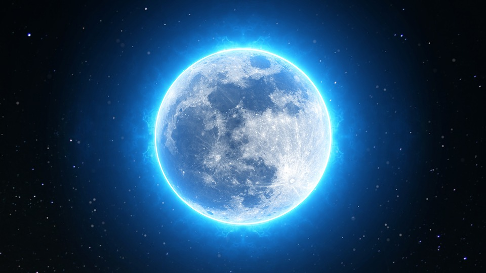 Learn how to make moon water, including blue moon water here.
