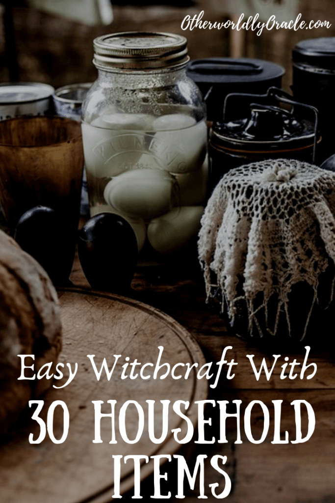 EASY Witchcraft with 30 Everyday Household Items!!!