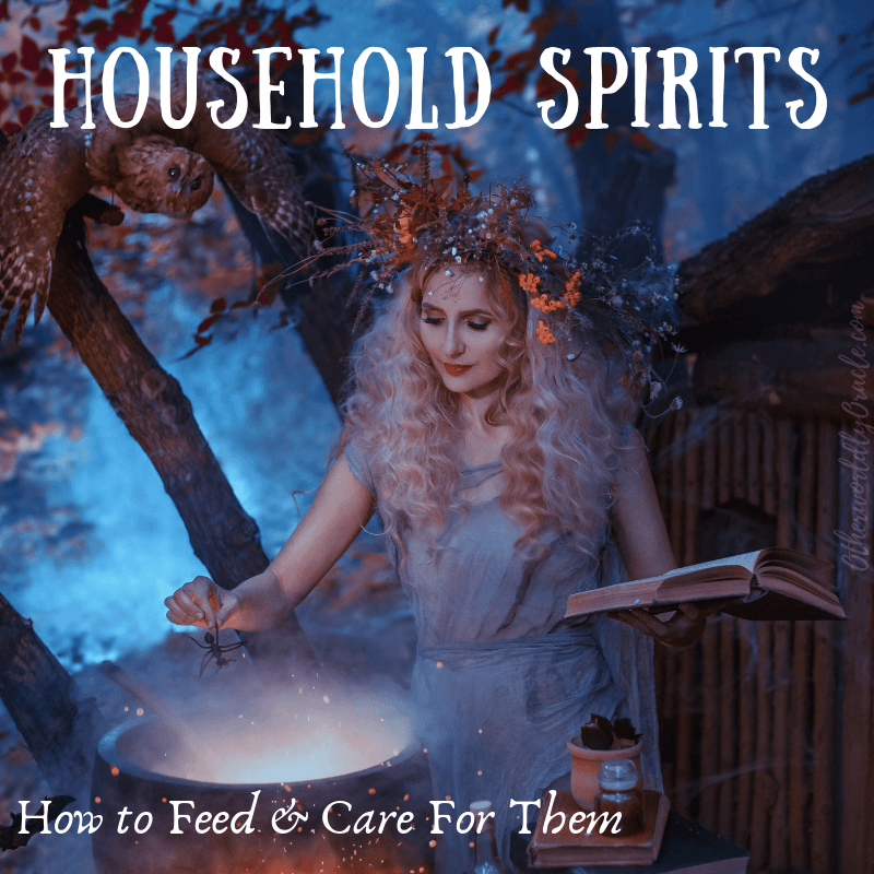 Here's how to feed and care for household spirits!
