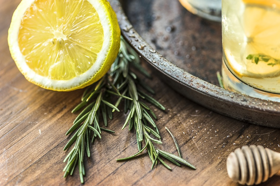 Throw rosemary into teas and lemonade to help the magical properties come through.