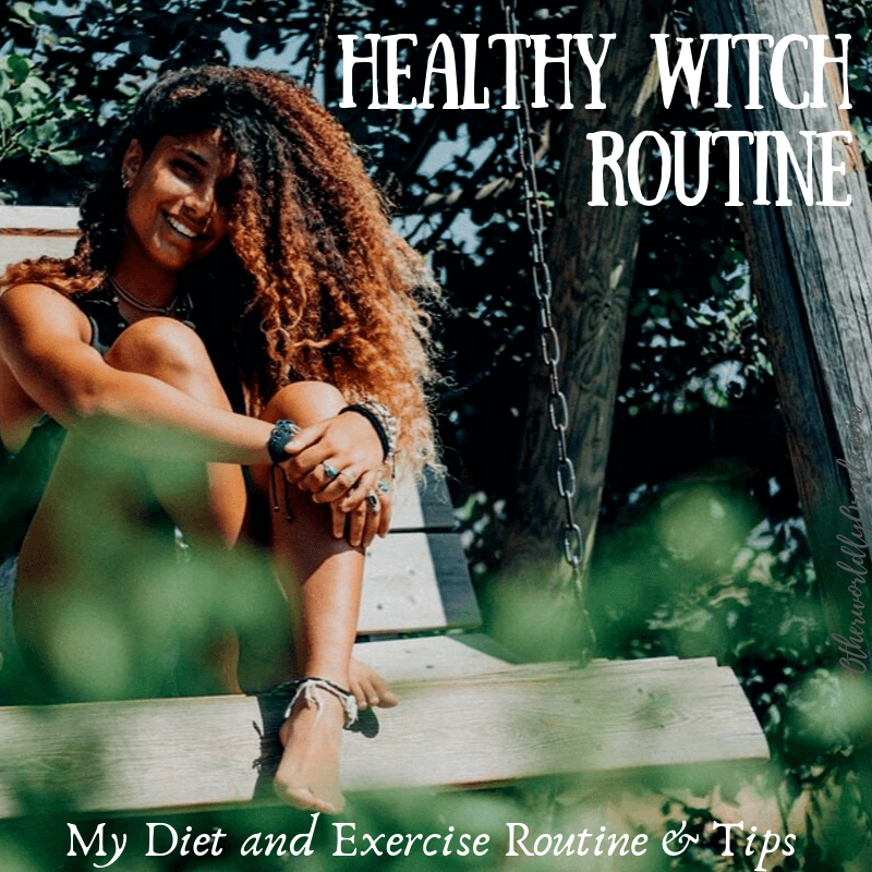 Healthy Witch: This Witch's Food & Exercise Routine