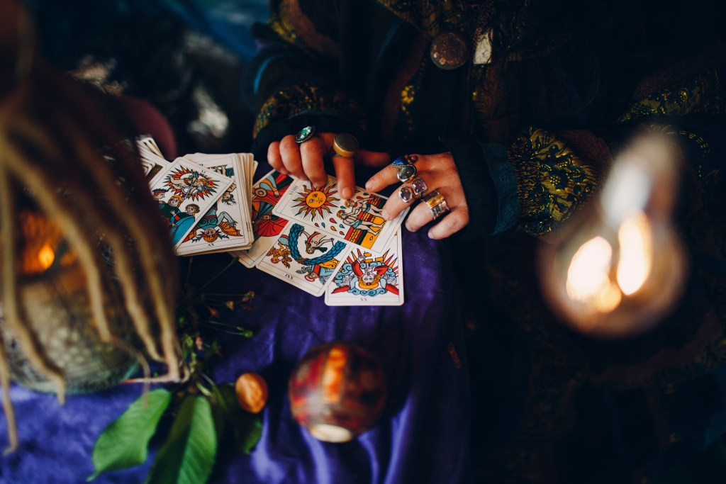 Every witchy birthday party should have divination of some kind!
