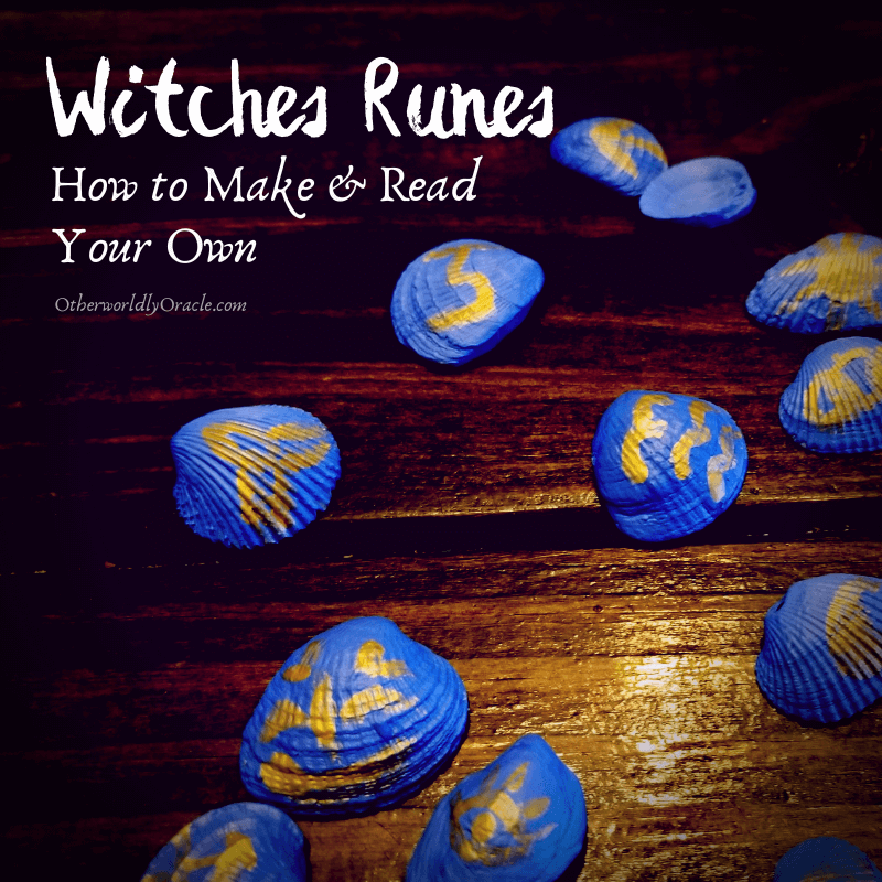 Witches Runes: History, Meanings, + How to Make and Read Your Own