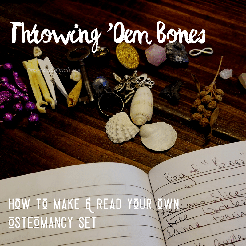 Throwing Bones: How to Make & Read Your Own Osteomancy Set