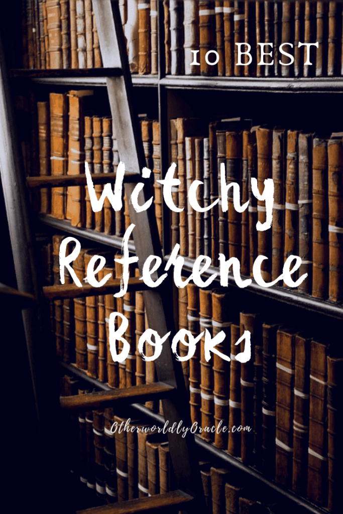 10 BEST Witchy Reference Books on Incense, herbs, crystals, spells, gods and more!