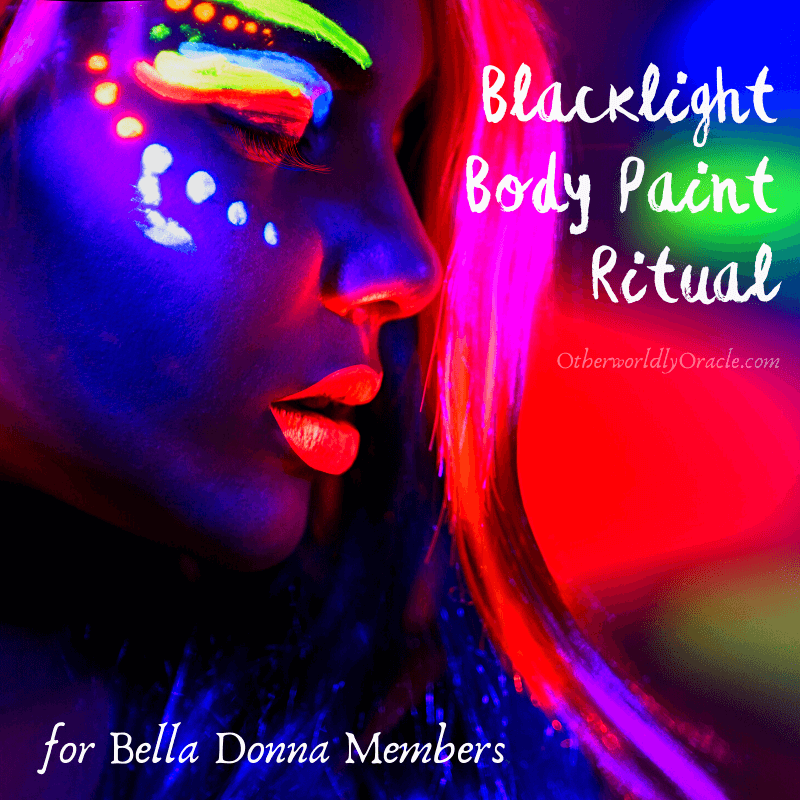 Blacklight Body Paint Ritual for Divine Protection (for BD Members Only)