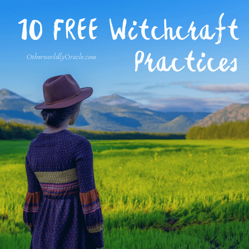 10 FREE Witchcraft Practices For Those on a Budget