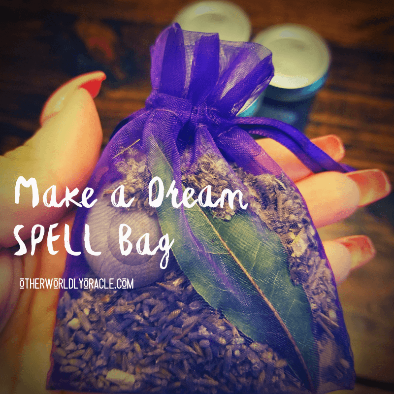 Dream Spell: Increase Your Dreams Spell Bag
