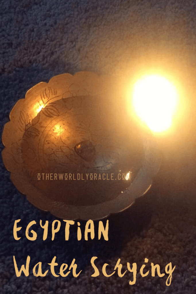 ANCIENT EGYPTIAN Water Scrying Ritual