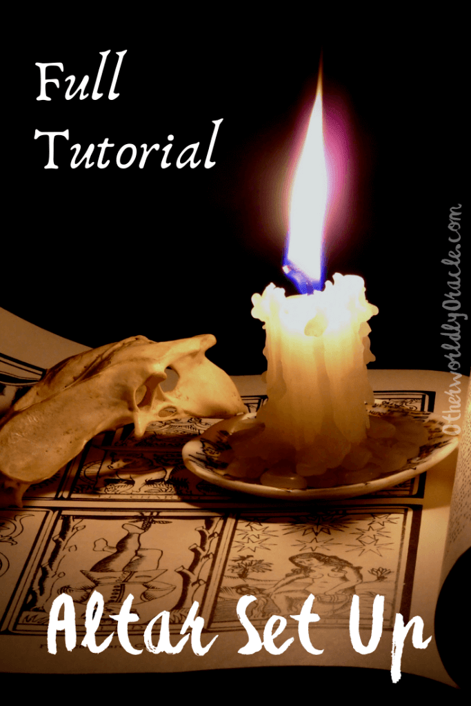 Pagan Alter Set Up Tutorial - Set Your Altar Up in 1 Day