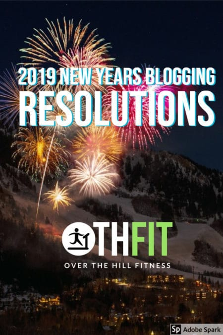 Pin 2019 New Years Blogging Resolutions on Pinterest