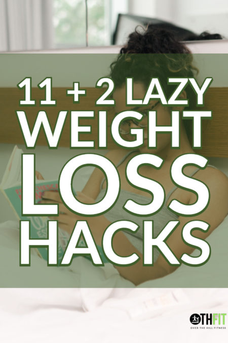 You don't have to spend hours in the gym or radically change your diet to lose weight. Sure, those things help a lot but here are some nice lazy weight loss hacks that don't require much effort. The best thing is that these hacks can be started immediately. #diet #weightloss #lifehack