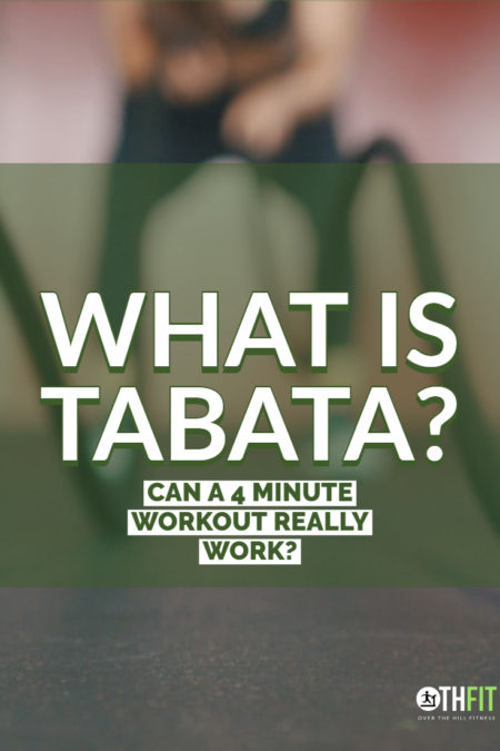 Tabata is a type of high-intensity interval training that focuses on short bursts of extreme effort over 4 minutes.