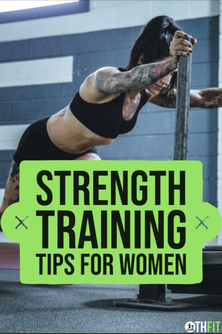 Avoid injury and get better results from your strength training using these 15 powerful strength training tips for women over 40. #strengthtraining #womenwholift