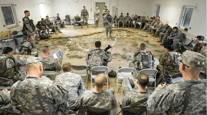 drop zone success in multi domain battle relies on mission command