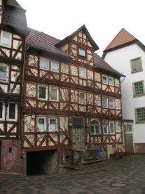 Ein schönes Rotenburger Fachwerkhaus mit Durchgang