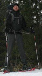 Ich mal ganz komplett im Böhmerwald.