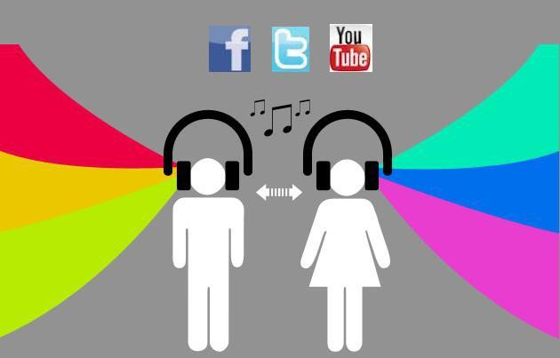 redes y música