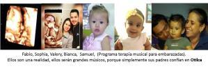 Terapia musical para embarazadas, una realidad tangible en Otilca