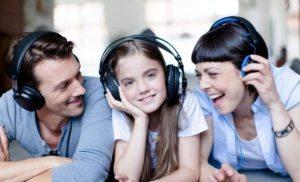 La música alta mejora la relación familiar
