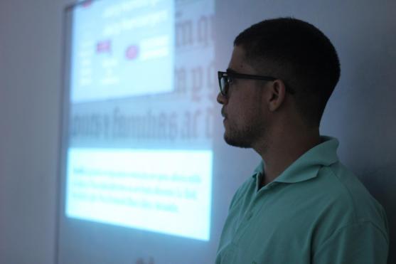 Tipografia com materiais do dia a dia (Fortaleza - 11/2015)