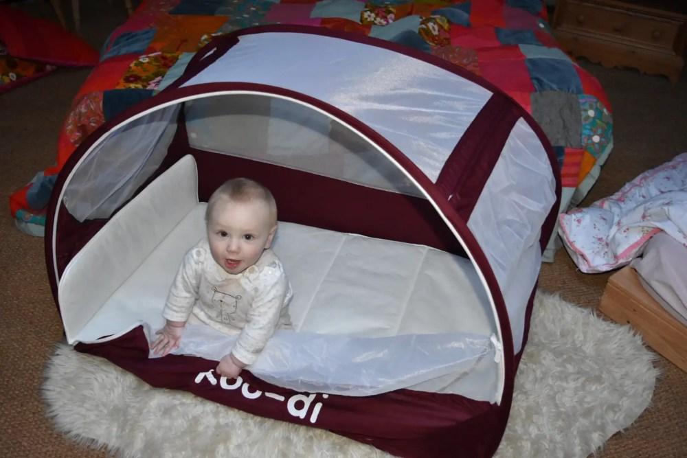 Koo-di Pop-Up travel bubble cot