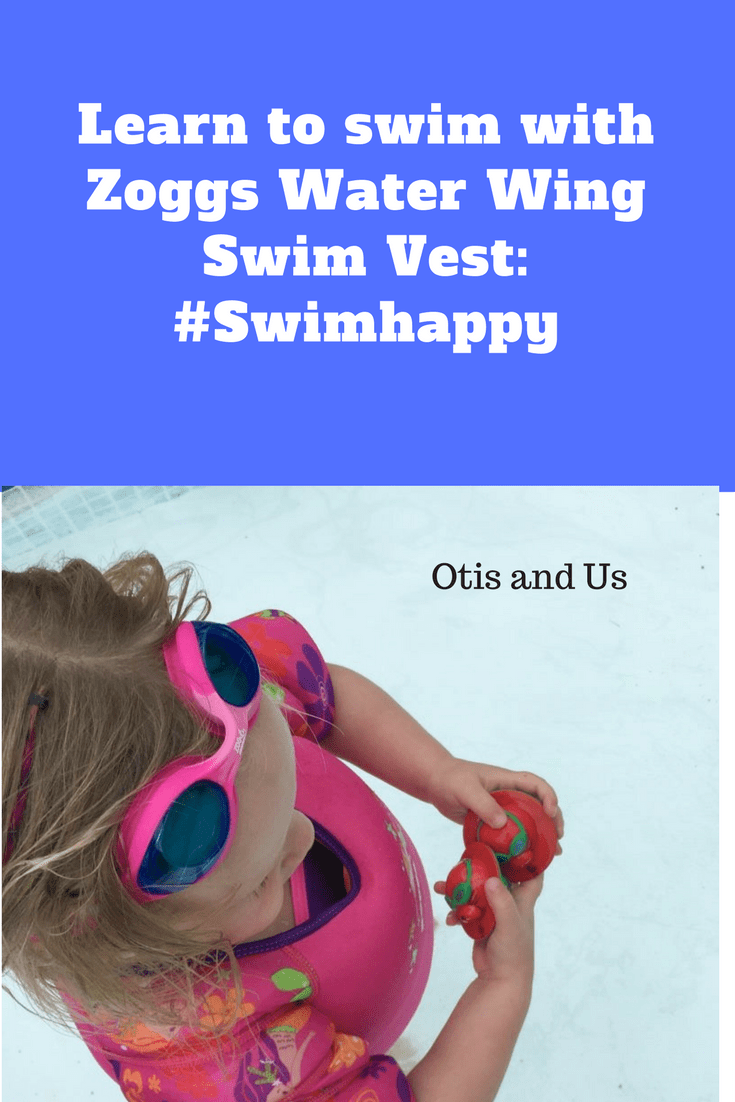 Learn to Swim with Zoggs Water Wing Swim Vest