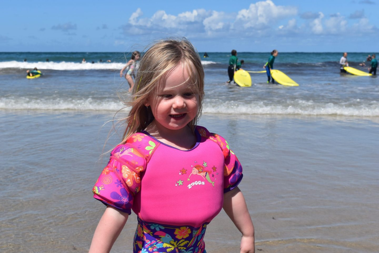 Learn to swim with Zoggs Water Wing Swim Vest: #Swimhappy