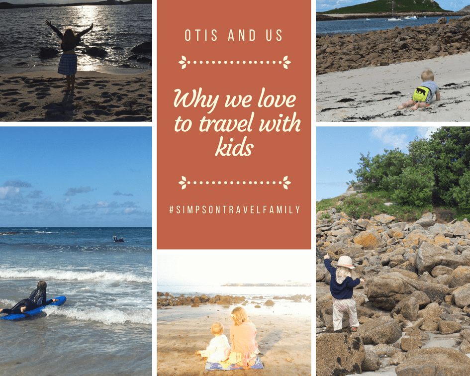 why we love to travel with kids