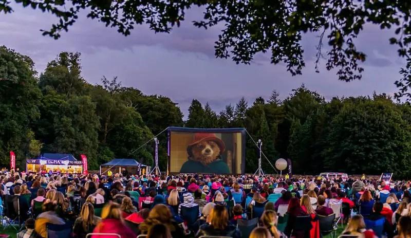 outdoor cinema for kids