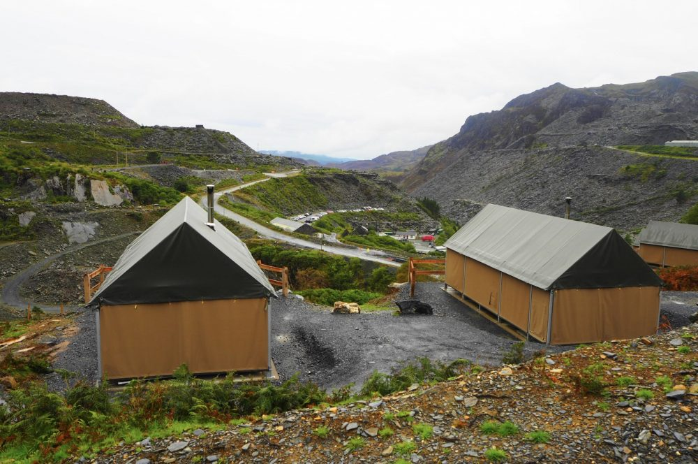 Glamping in North Wales – The Slate Caverns