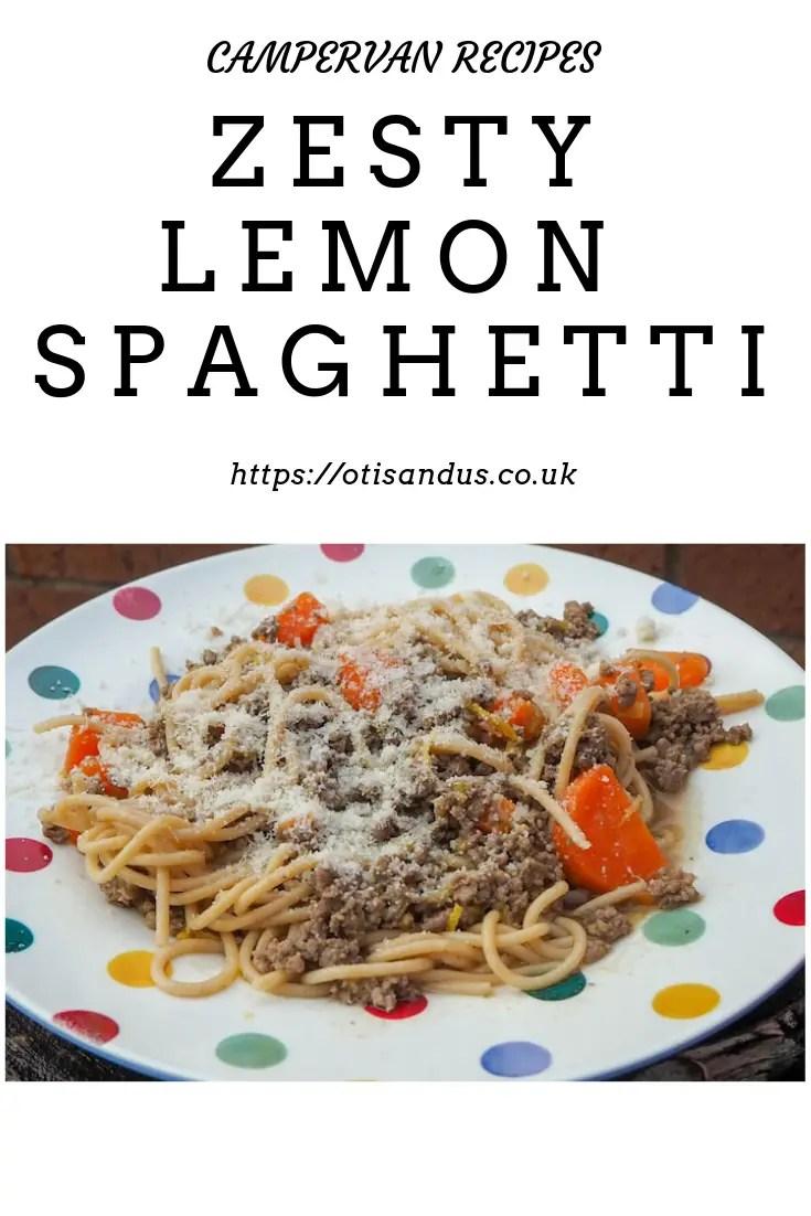 zesty lemon spaghetti
