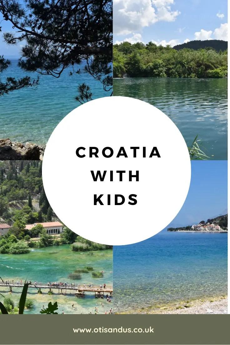 Croatia with kids #Croatia #familytravel #MakarksaRiviera