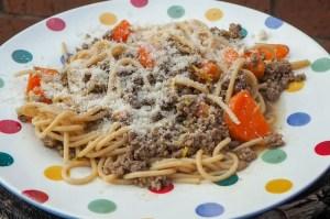 Zesty lemon spaghetti an ideal camping recipe