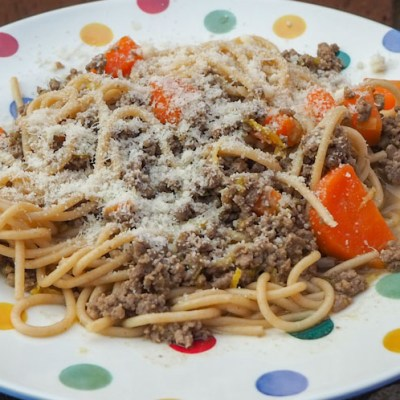 Easy campervan recipe: Zesty Lemon Spaghetti