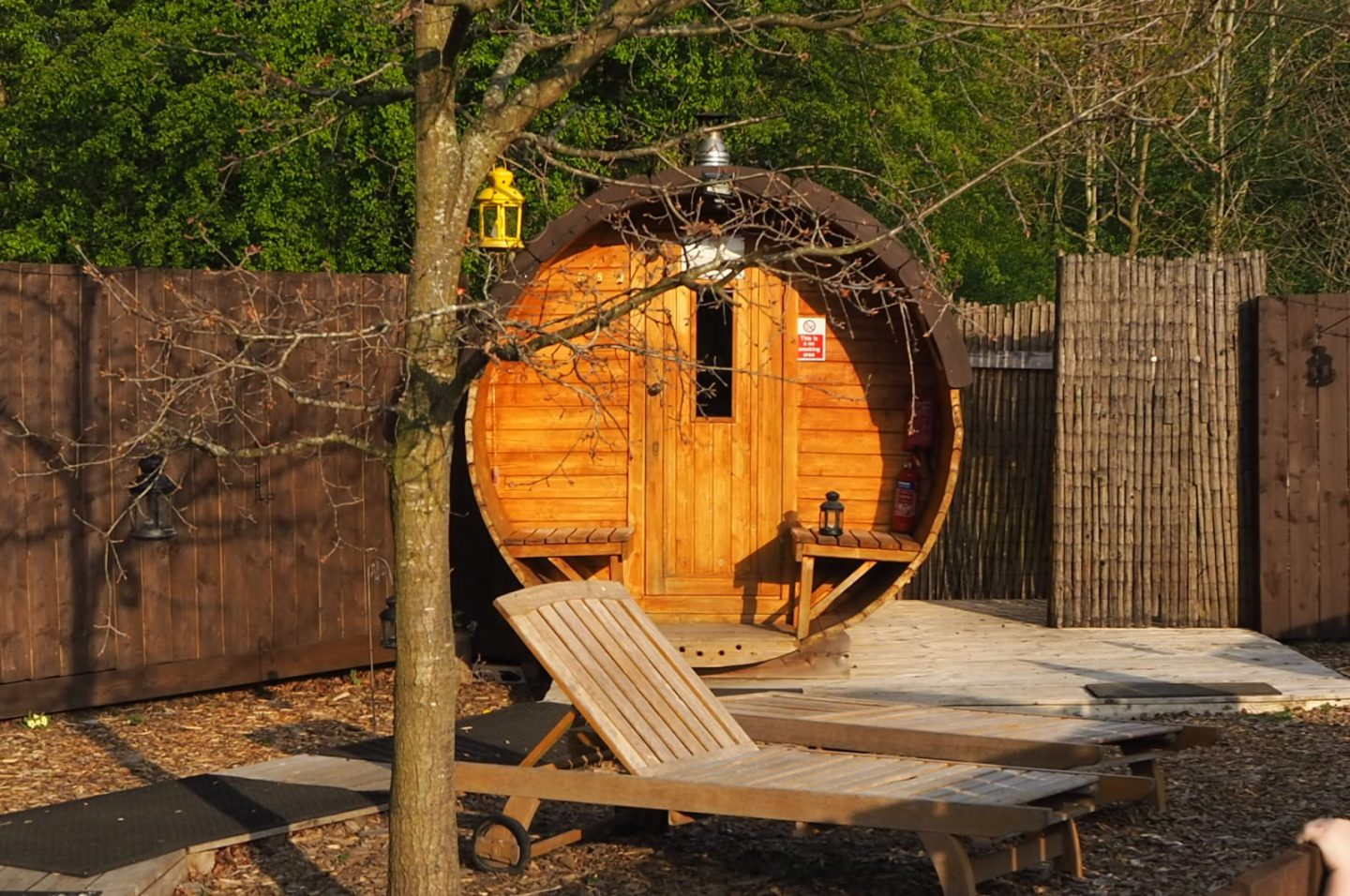 Eco Spa at Camp Katur #UKglamping #CampKatur #safaritent #familytravel
