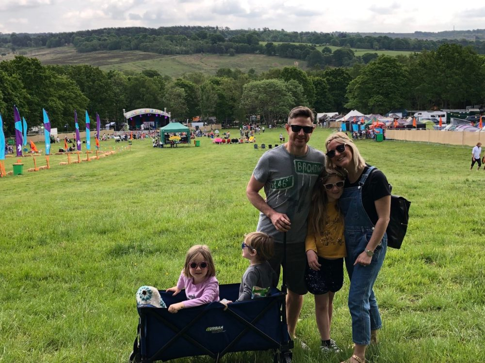 Otis and Us at Elderflower Fields Festival