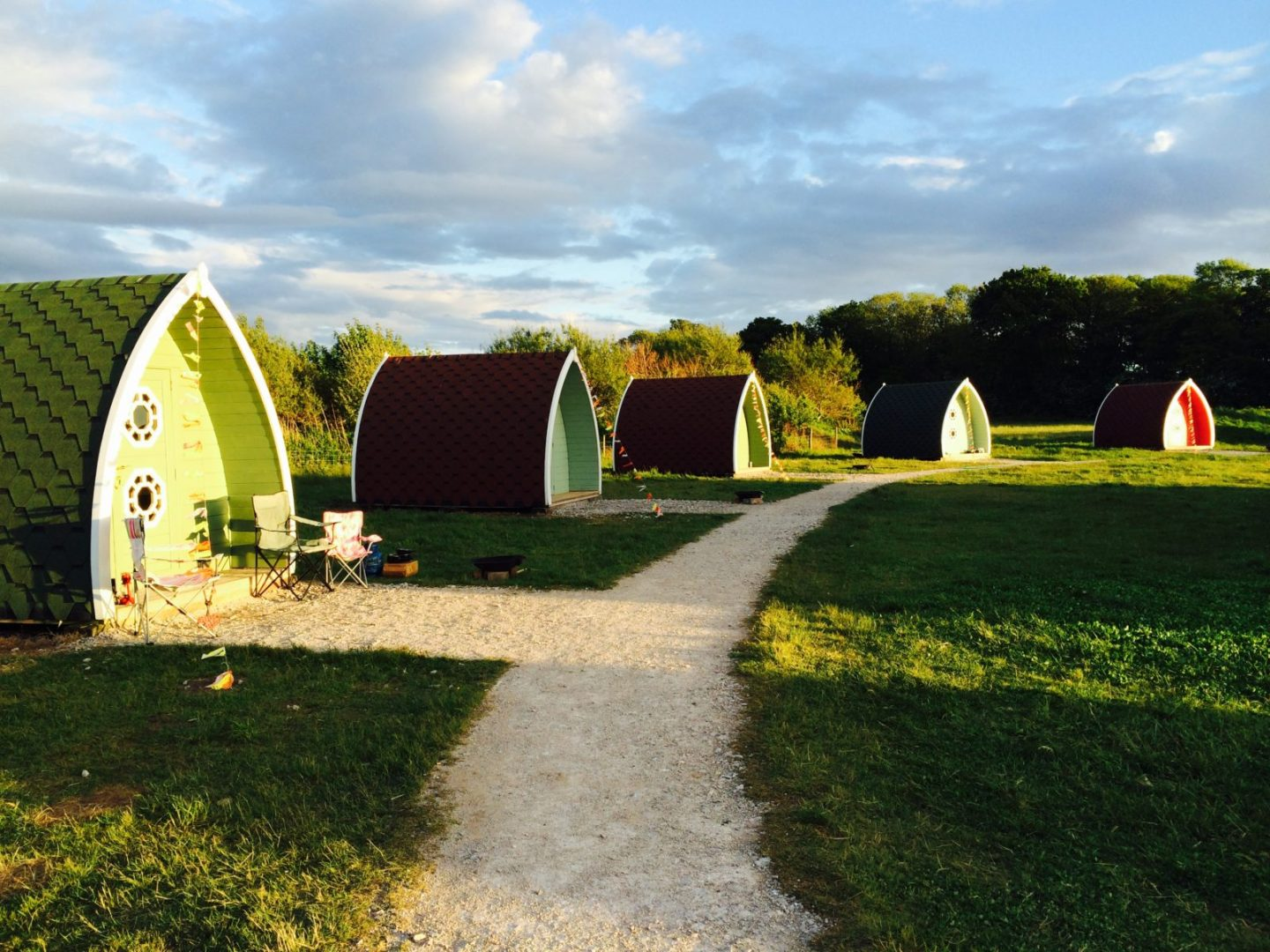 Glamping with kids - Stanley Villa Farm glamping pods