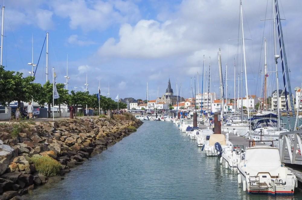 St Gilles Croix de Vie. Near to Le Clarys-Plage, Vendée best Eurocamp France