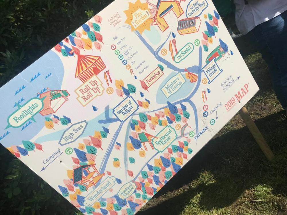 Just So Festival map for the Just So festival review