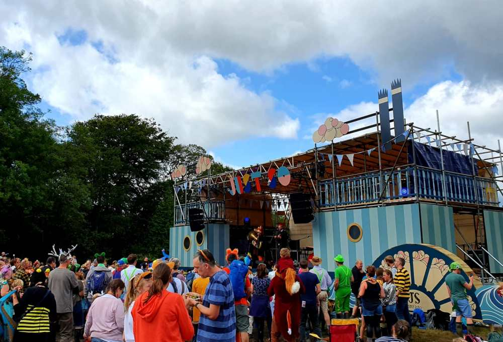 Review of the Just So Festival 2019 in Road Hall Cheshire